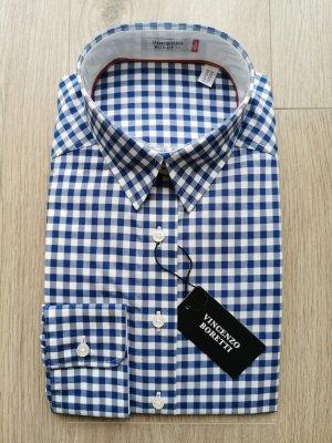 Damen Bluse leicht tailliert 100% Baumwolle bügelleicht (Gr. 36)