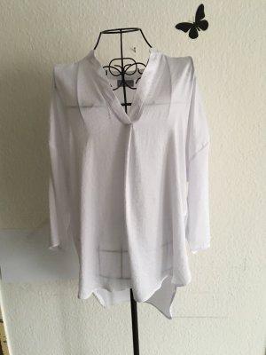 Canda Glanzende blouse wit