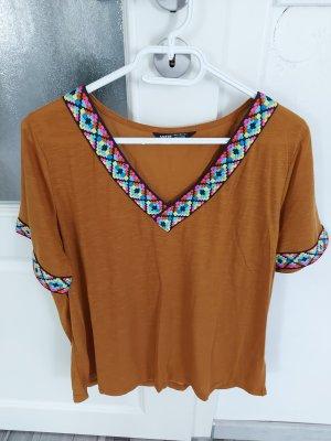 Damen Bluse Top in Braun gr.L XL