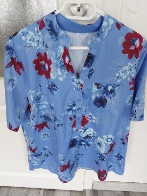 Damen Bluse Top Oberteil in Blau gr.M L