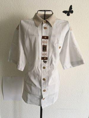 Damen Bluse zum knöpfen kurzärmlig in größe L 41/42
