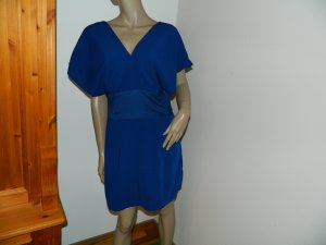 Object Robe chemisier bleu foncé polyester