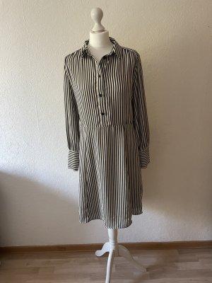 Damen blusenkleid mit Muster und Reißverschluss