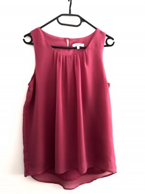 Clockhouse Blusa rosso lampone