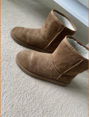 Botas de nieve marrón claro-marrón