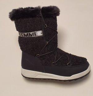 100% Fashion Bottes de neige noir