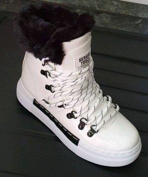 100% Fashion Bottes de neige blanc