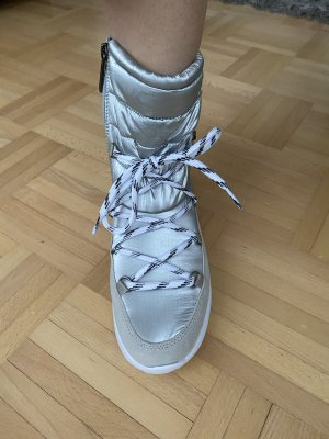 Tommy Jeans Snow Boots light grey-silver-colored