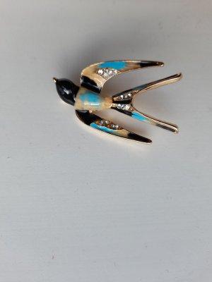 Broche multicolor metal