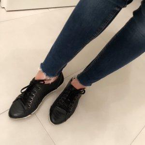 Damen Bugatti Sneaker 36 schwarz