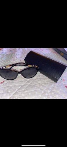 Burberry Lunettes de soleil ovales noir