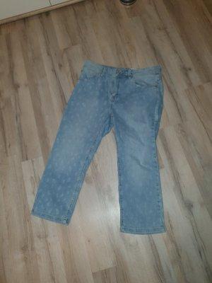 C&A Pantalon capri bleu clair