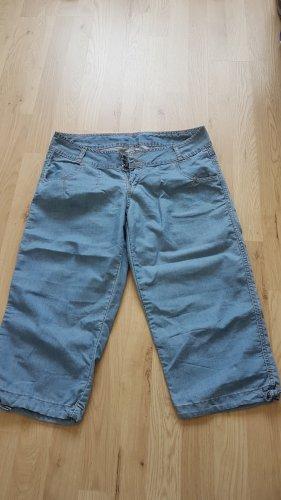 Pantalone Capri azzurro