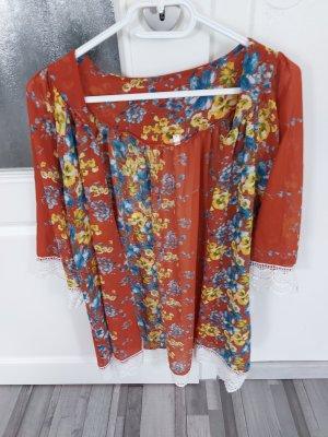 Zanzea Chemisier kimono multicolore