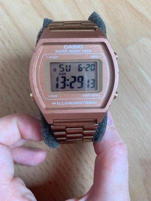 Casio Reloj digital color rosa dorado