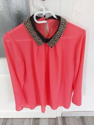 Unb Cols de blouses multicolore