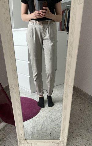 Damen Chinohose/ Cargohose / Stoffhose Vero Moda beige Gr.XS/ S