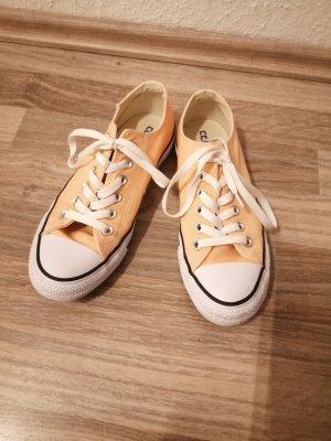 Converse Wedge sneaker abrikoos