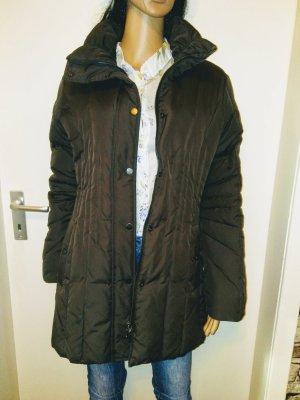 Peek & Cloppenburg Manteau en duvet taupe-brun foncé tissu mixte
