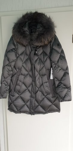 Betty Beclay Down Jacket slate-gray mixture fibre