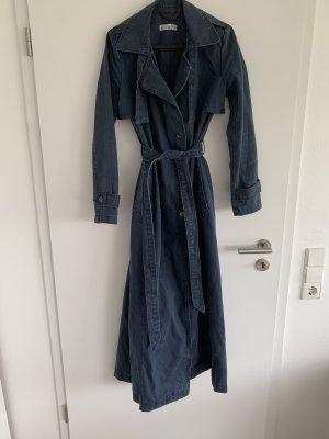 Damen Denim Trenchcoat