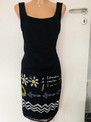 Desigual Sheath Dress black polyester