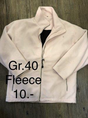 Damen dicke fleece Jacke Gr.40 nur 10.-