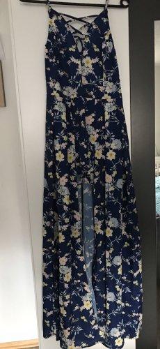 Pantalon 3/4 bleu