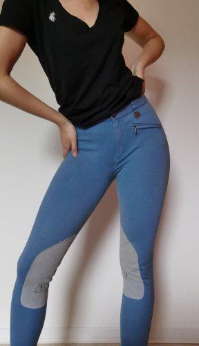 ELT Riding Trousers light grey-cornflower blue