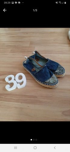 Fritzi aus preußen Espadrille Sandals blue-dark blue