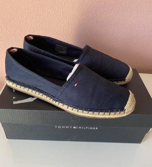 Tommy Hilfiger Zapatillas deslizantes azul oscuro