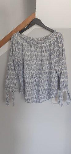 Esprit Bluzka typu carmen biały Bawełna