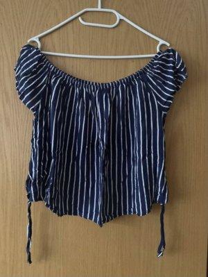 Damen Fashion Bluse Off-Shoulder Größe 38