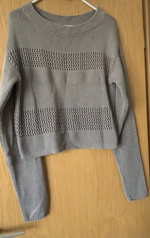 Arrival Cropped Jumper grey brown