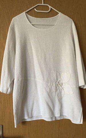 Damen Fashion Leinen Bluse Tunika Made in Italy