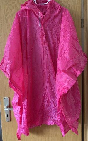 Manteau de pluie rose