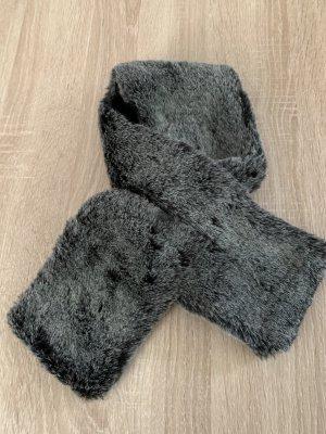 Unbekannte Marke Cravate ascot gris anthracite