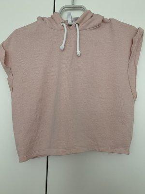 H&M Blusa con capucha rosa