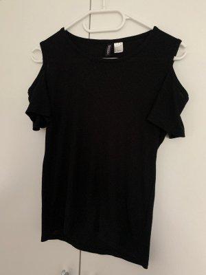 H&M Camiseta negro