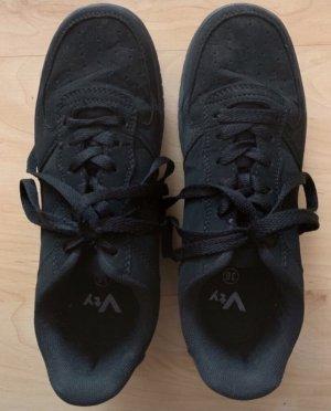 Damen Fashion Sneaker Schwarz Größe 36