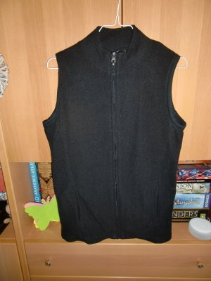 Gina Benotti Fleece vest zwart Polyester