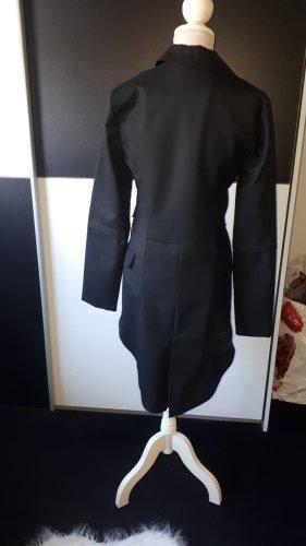 Object collectors item Queue-de-pie noir tissu mixte