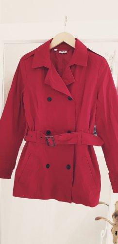 Damen Frühlingsjacke Übergangsjacke Gr. 36 rot
