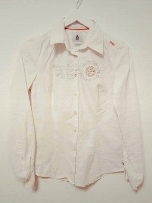 Damen Gaastra Hemd, Vintage Hemd Damenbluse, Gr. M