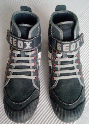 Damen Geox High Top Sneaker, super bequem in grau Gr. 39/UK6