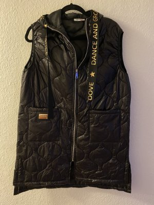 0039 Italy Hooded Vest black