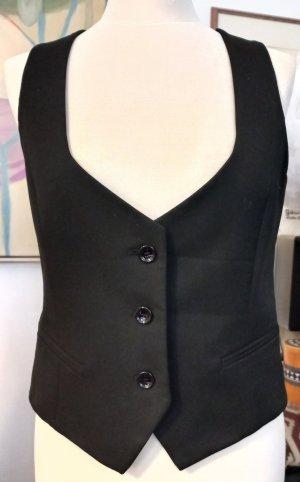 Damen-Gilet Gr. M von Zara, schwarz, neuwertig