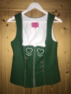 Krüger Traditional Camisole green-white