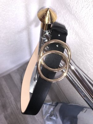 Tally Weijl Fabric Belt black-gold-colored