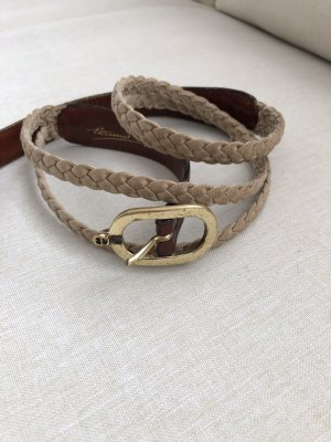 Aigner Fabric Belt gold-colored